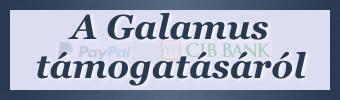 A Galamus támogatásáról